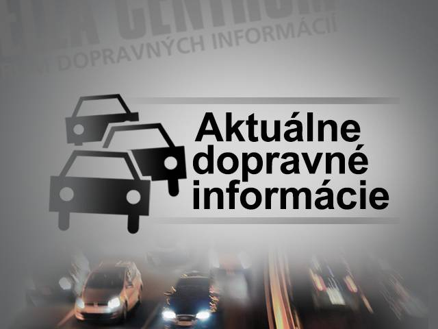 4533cd78d Dopravné informácie: Aktuálne dopravné informácie