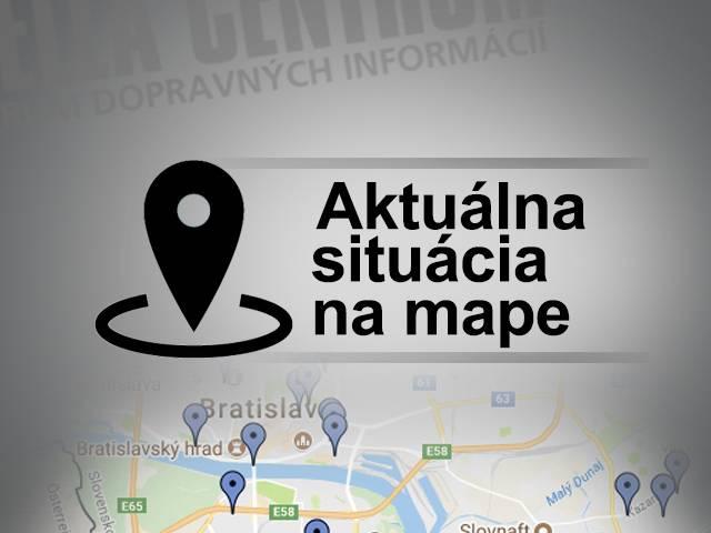 2c7b0d1f3 Dopravné informácie: Aktuálna situácia na mape